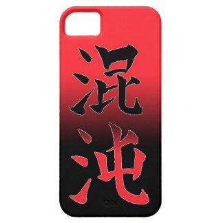 Chaos japan symbol cool Konton Japanese Chinese iPhone 5/5S Cases
