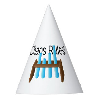 Chaos Rules Custom Party Hat