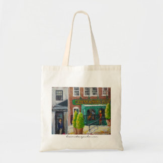 Characters Pub Bistro series Budget Tote Bag
