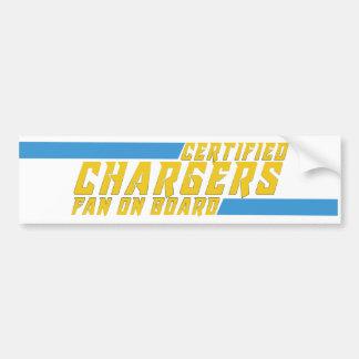 charger bumper sticker
