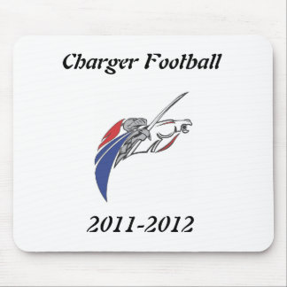 Charger Fan Wear Mouse Pad