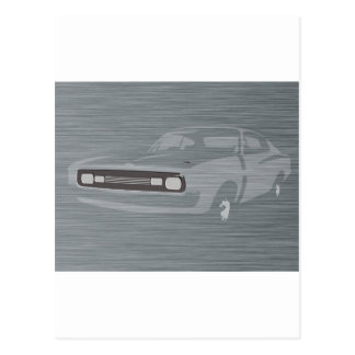 Charger Postcard