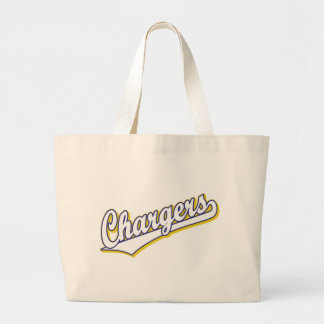 Chargers in Blue and Yellow Bags