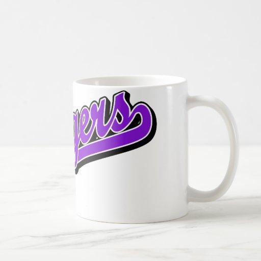 Chargers in Purple Coffee Mug