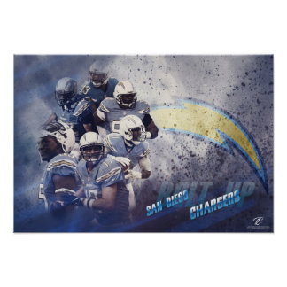 chargers poster