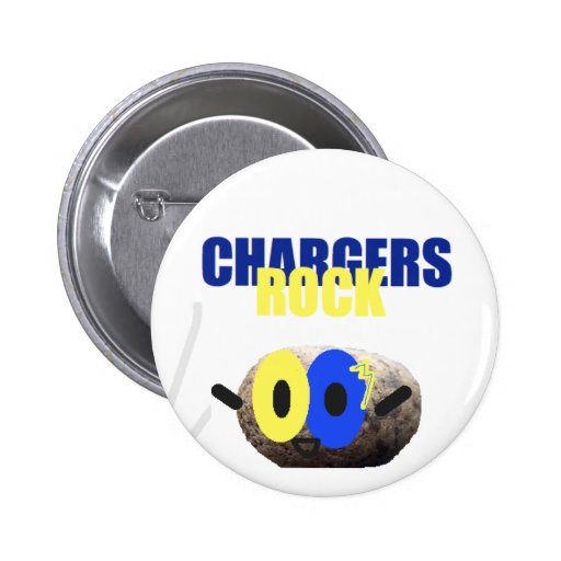 Chargers Rock Pins