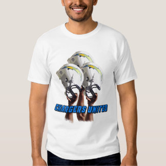 chargers united tshirts