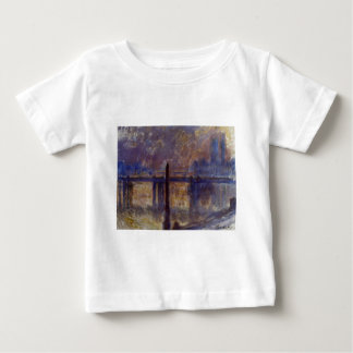 Charing Cross Bridge, Cleopatra's Needle by Claude Baby T-Shirt