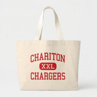 Chariton - Chargers - Middle - Chariton Iowa Canvas Bag