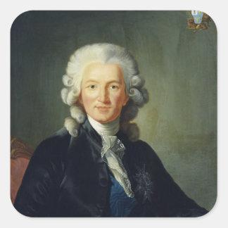 Charles Alexandre de Calonne Square Sticker