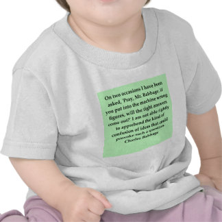 Charles Babbage quote Tees