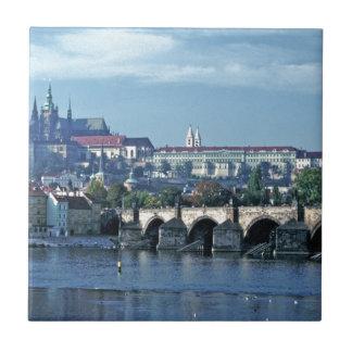 Charles Brdge Prague Castle Tom Wurl.jpg Tile