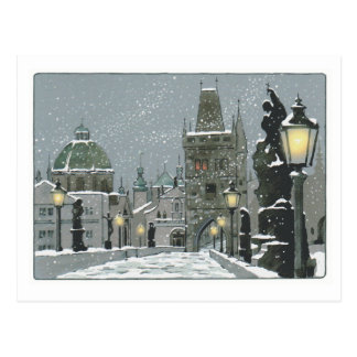Charles Bridge post card