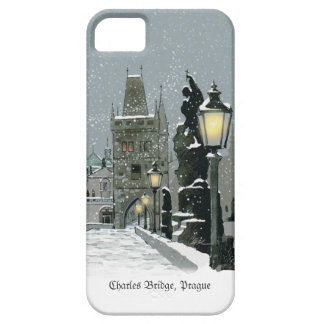 Charles Bridge Winter iPhone 5 Barely There Case