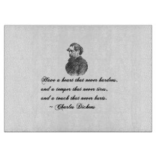 Charles Dickens Our Mutual Friend quote Cutting Boards