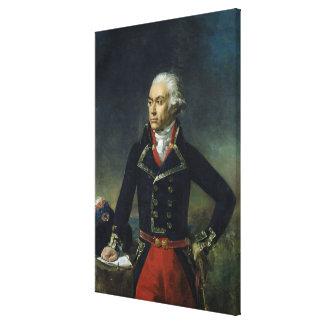 Charles-Francois du Perier Dumouriez Canvas Print