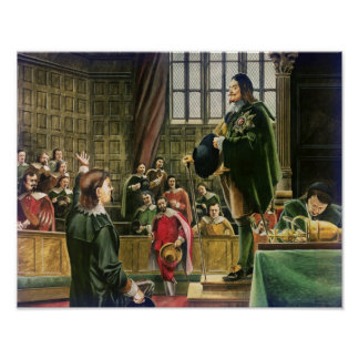 Charles I in the House of Commons Poster