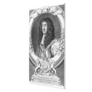 Charles II (1630-85) King of Great Britain and Ire Canvas Print