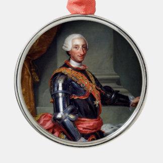 Charles III of Spain by Anton Raphael Mengs 1761 Christmas Ornament