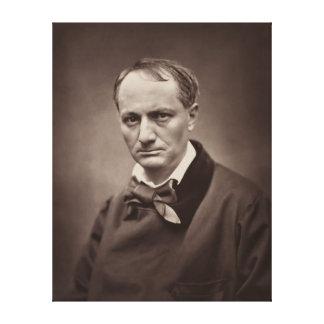 Charles Pierre Baudelaire Portrait Étienne Carjat Canvas Print