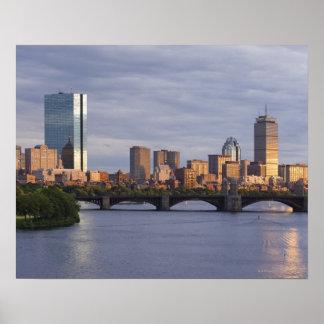Charles River and The Longfellow Bridge Poster