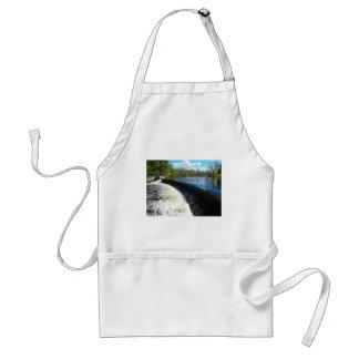 Charles River Falls in South Natick Massacchusetts Standard Apron