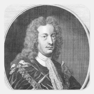Charles Spencer, 3rd Earl of Sunderland Square Sticker