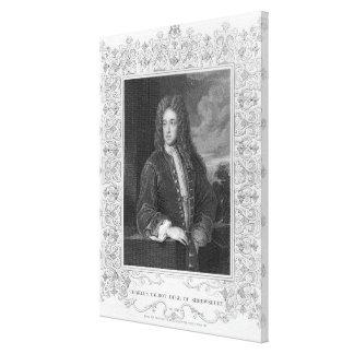 Charles Talbot, Duke of Shrewsbury Canvas Print