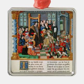 Charles the Bold, Duke of Burgundy Christmas Ornament