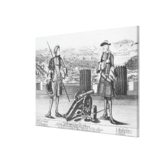 Charles V, Duke of Lorraine and Bar, with Canvas Print