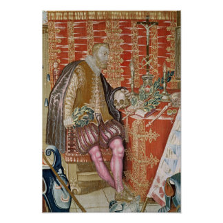 Charles V  from 'The Tapestry of Charles Poster