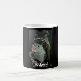 Charlie, Crackers? Basic White Mug