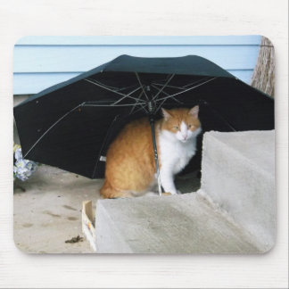 Charlie in the Rain Mouse Pad
