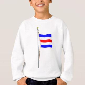 "Charlie  ""Yes"" Nautical Signal Flag ""C"" Sweatshirt"