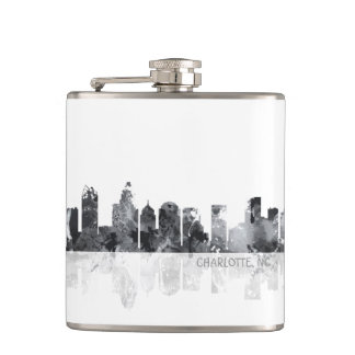 CHARLOTTE, NORTH CAROLINA - Drinks flask