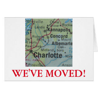 Charlotte We've Moved address announcement