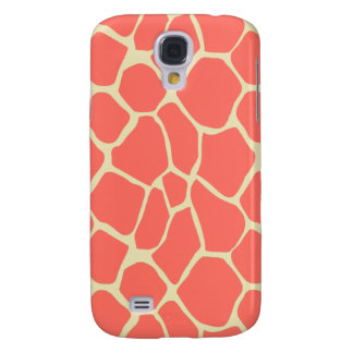 Charming adorable Elegant modern romantic giraffe Galaxy S4 Case