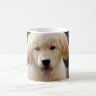 Charming Dog Goldie Cute Puppy, Photo _ Coffee Mug