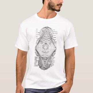 Chart Latin Astronomical T-Shirt