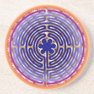Chartres Labyrinth Pearl Dawn Coaster