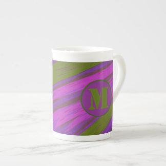 chartreuse green purple pink Color Swish Tea Cup