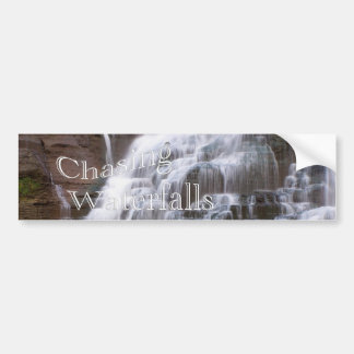 Chasing Waterfalls Bumper Sticker