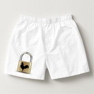 Chastity Lock Boxers