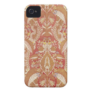 Chasuble, lace patterned silk, French, c.1720 iPhone 4 Case-Mate Cases