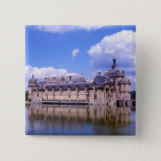 Chateau Chantilly, Oise, France 15 Cm Square Badge