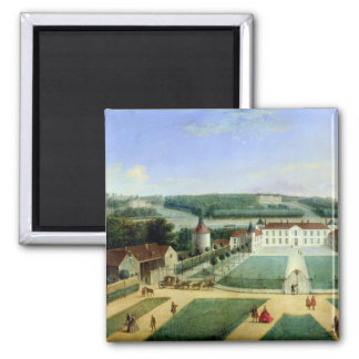 Chateau of Charles Guillaume Le Normant Magnet