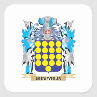 Chauvelin Coat of Arms - Family Crest Sticker