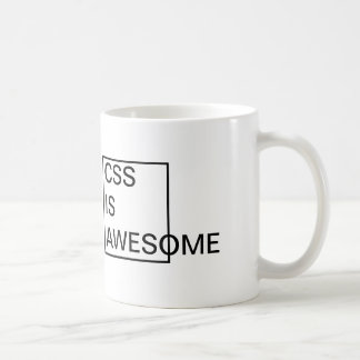 Cheap CSS is AWESOME MUG