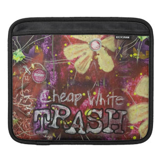 Cheap White Trash Ipad Sleeve