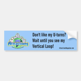 Check out my Vertical Loop Bumper Sticker